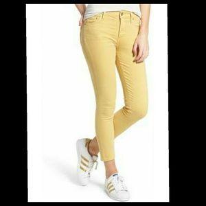 COH rocket high tise crop skinny jeans.